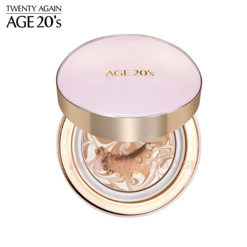 AGE 20'S Signature Essence Cover Pact Moisture 14g*2ea,AGE 20'S