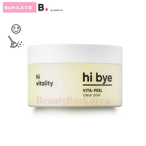 BANILA CO Hi Bye Vita-Peel Clear Pad 85ml (40ea),BANILA CO.