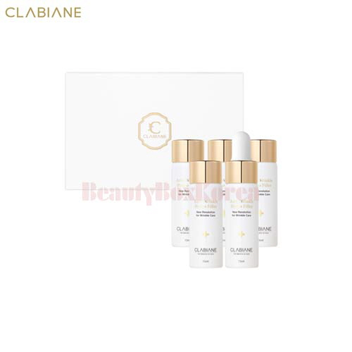 CLABIANE Anti Wrinkle Hydro Filler 15ml*5ea     - Beauty Box Korea