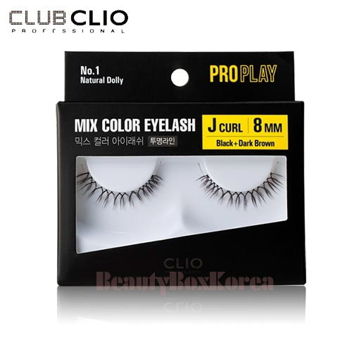 d884a049b2b CLIO Pro Play Mix Color Eyelash 1ea (01~06 ... - Beauty Box Korea