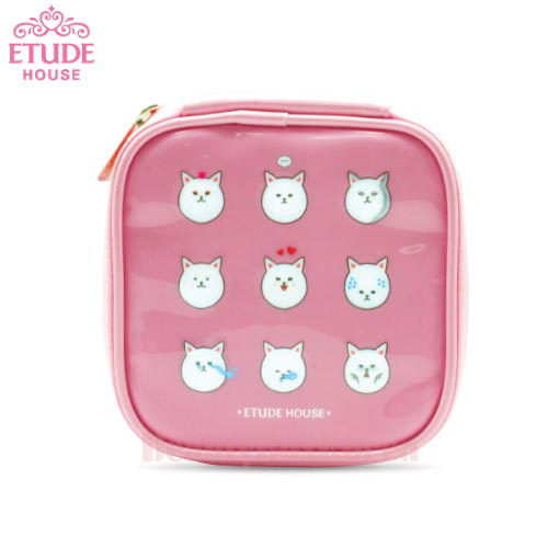 ETUDE HOUSE Sugar and Jam Sweet Pouch Pink 1ea,ETUDE HOUSE
