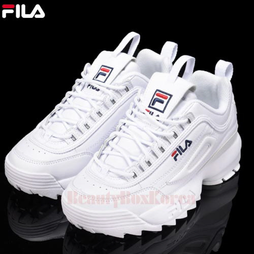 FILA Sneaker Disruptor Low 1pair available now at Beauty Box Korea