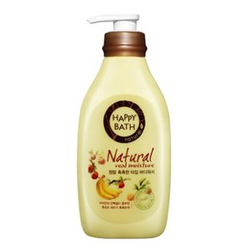 HAPPY BATH Natural Real Moisture Body Wash 500g,HAPPY BATH