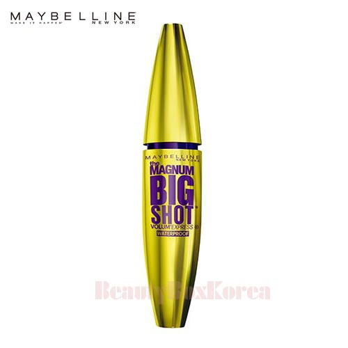 01fc0cded50 Beauty Box Korea - MAYBELLINE The Magnum Big Shot Waterproof Mascara 10ml    Best Price and Fast Shipping from Beauty Box Korea