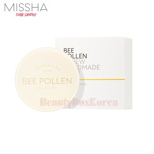 MISSHA Bee Pollen Renew Hand Made Soap 100g,MISSHA