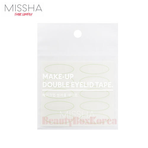 MISSHA Make-Up Double Eyelid Tape 2ea available now at Beauty Box Korea