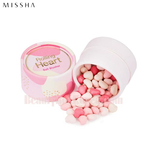 MISSHA Rolling Heart Ball Blusher 15g available now at Beauty Box Korea