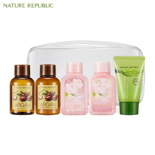 NATURE REPUBLIC Travel Mate All In One Kit 5items,NATURE REPUBLIC