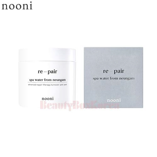 NOONI Advanced Repair Therapy Turnover Peel Pad 70p/140ml,NOONI