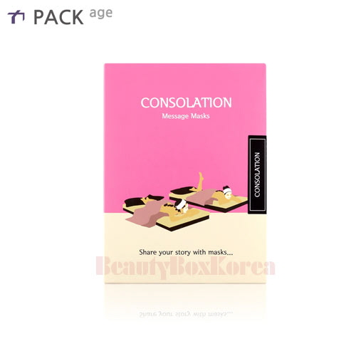 PACK AGE Consolation Message Mask 25ml*10ea,PACK AGE