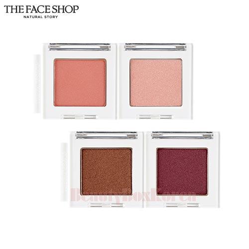 THE FACE SHOP Mono Cube Eye Shadow 2 0g (Shimmer) available now at Beauty  Box Korea