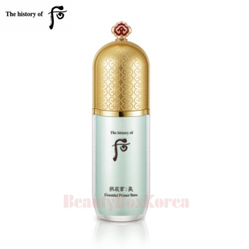 THE HISTORY OF WHOO Gong Jin Hyang Mi Essential Primer Base 40ml,THE HISTORY OF WHOO