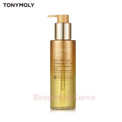 TONYMOLY Intens Care Gold 24K Snail Cleansing Oil Gel 190ml,TONYMOLY