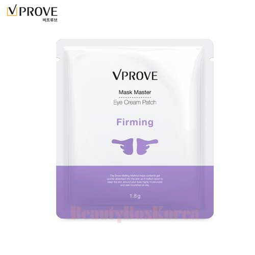VPROVE Mask Master Eye Cream Patch - Firming 1.8g*10ea,VPROVE