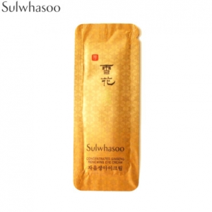 [mini]SULWHASOO Concentrated Ginseng Renewing Eye Cream 1ml*10ea,SULWHASOO