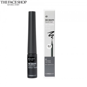 THE FACE SHOP INKGRAFFI Liquid Liner #01 Full Black [THE FACE SHOP Ink Graffi Liquid Liner],THE FACE SHOP