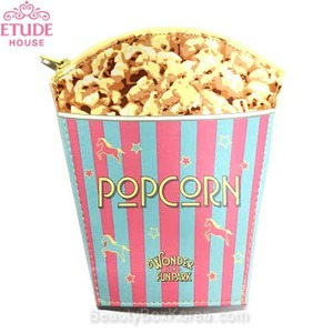 ETUDE HOUSE Fun Play Park Popcorn Pouch 1ea [Wonder Fun Park Edition],ETUDE HOUSE
