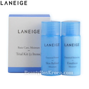 [mini] LANEIGE Basic Care Moist Trial Kit 2 items,LANEIGE