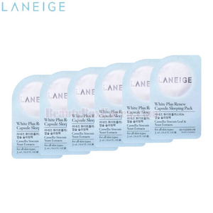 [mini] LANEIGE White Plus Renew Capsule Sleeping Pack 3ml*6ea,LANEIGE