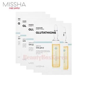 MISSHA Mascure Sheet Mask 28ml*10ea,MISSHA