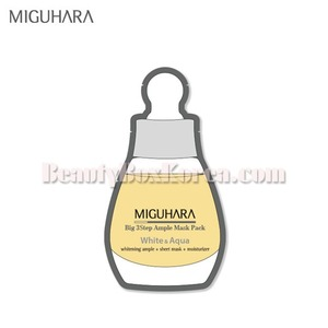 MIGUHARA Big3 Step Ample Mask Pack 25ml[WS],MIGUHARA