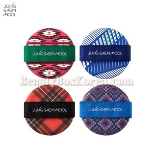 JUNGSAEMMOOL Cushion Puff-Pattern for Season 4ea,JUNGSAEMMOOL