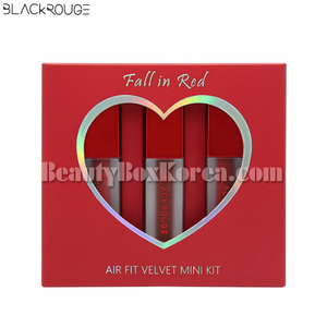BLACK ROUGE Air Fit Velvet Mini Tint Fall in Red 2g*3ea[Online Excl.], BLACKROUGE