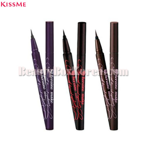 KISSME Herione Make Smooth Liquid Eyeliner Superkeep 0.4ml,KISS ME