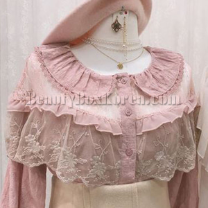 FROMB Lace Blouse 1ea,FROMB