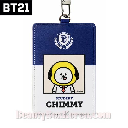 BT21 School Card Holder 1ea [BT21 x MONOPOLY],BT21