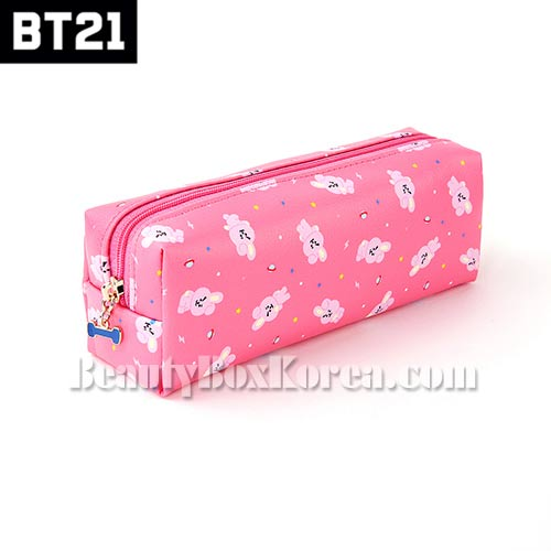 BT21 C-Pocket Pattern Pouch 1ea [BT21 x MONOPOLY],BT21