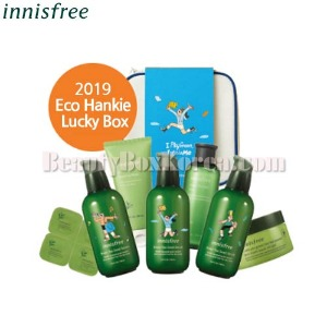 INNISFREE 2019 Eco Hankie Lucky Box 3items [2019 Eco Hankie Edition]