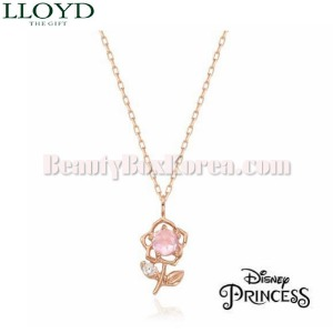 LLOYD Beauty and the Beast Belle Necklace 1ea LNT19033T [LLOYD X DISNEY Princess],Beauty Box Korea