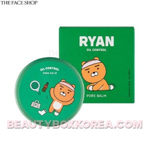 THE FACE SHOP Ryan Oil Control Pore Balm 17g [THE FACE SHOP X KAKAO FRIENDS]