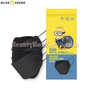 OLIVE YOUNG MINIONS KF94 Higuard Disinfection Mask 3ea
