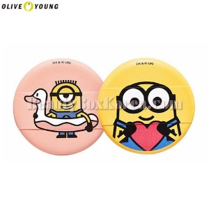 OLIVE YOUNG MINIONS Cushion Puff 1ea