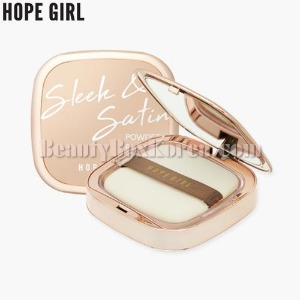 HOPE GIRL Sleek & Satin Powder Pact 13g