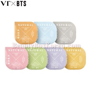 VT X BTS Born Natural Special Capsule Mask Kit 5ml*7ea