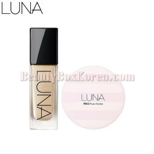 LUNA Long Lasting Foundation Set 2items