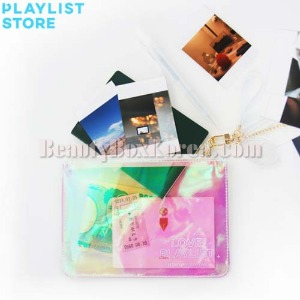 LOVE PLAYLIST Holographic Pouch 1ea