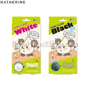 HATHERINE Pore Clear Nose Strip 16ea