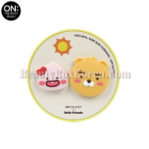ON THE BODY Natural Kids Sun Cushion SPF32 PA++ 15g [ON THE BODY X LITTLE FRIENDS]