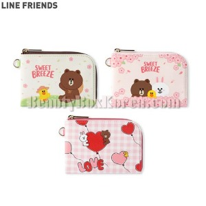 LINE FRIENDS Card Pocket 1ea [LINE FRIENDS x MONOPOLY]