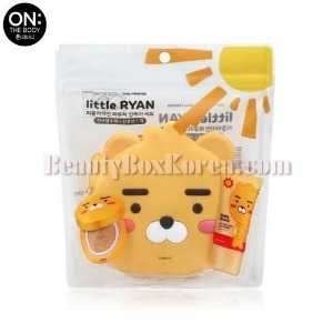 ON THE BODY Little Ryan Pouch Sun Care Set 3items [ON THE BODY X LITTLE FRIENDS]