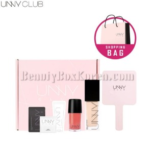 UNNY CLUB Kiss Lip Tattoo&Cloudlet Liquid Foundation Pink Package Set 8items