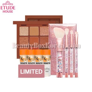 ETUDE HOUSE Maple Road&Twinkle Mini Brush Set 9items