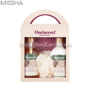 MISSHA Oatmeal Enriched Body Special Set 3items