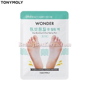 TONYMOLY One Shot One Kill Foot Peeling Pack 20ml*2ea