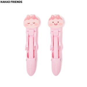 KAKAO FRIENDS Lovely Apeach Mini Hair Clips 2p