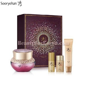 SOORYEHAN Ginseng Cream Special Set 4items